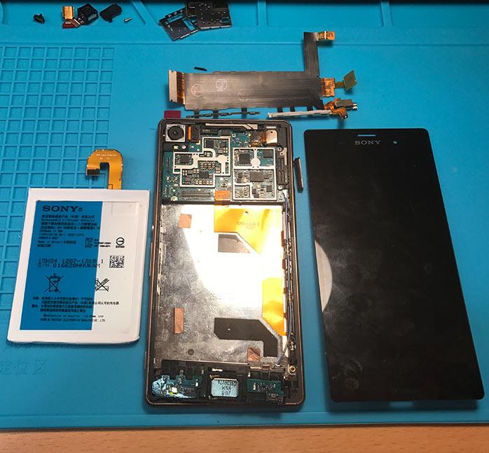 Поправка, ремонт и сервиз на телефони Sony