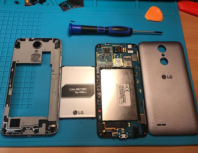 Поправка, ремонт и сервиз на LG мобилни телефони