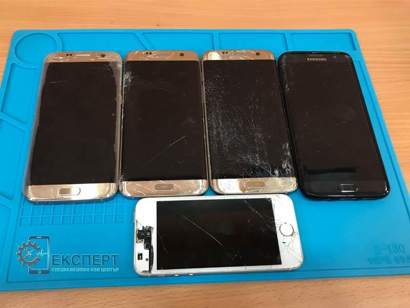 Смяна на дисплей, тъчскийн и стъкло на телефони