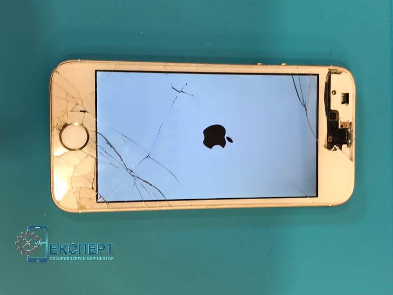 Смяна на счупен дисплей на iPhone
