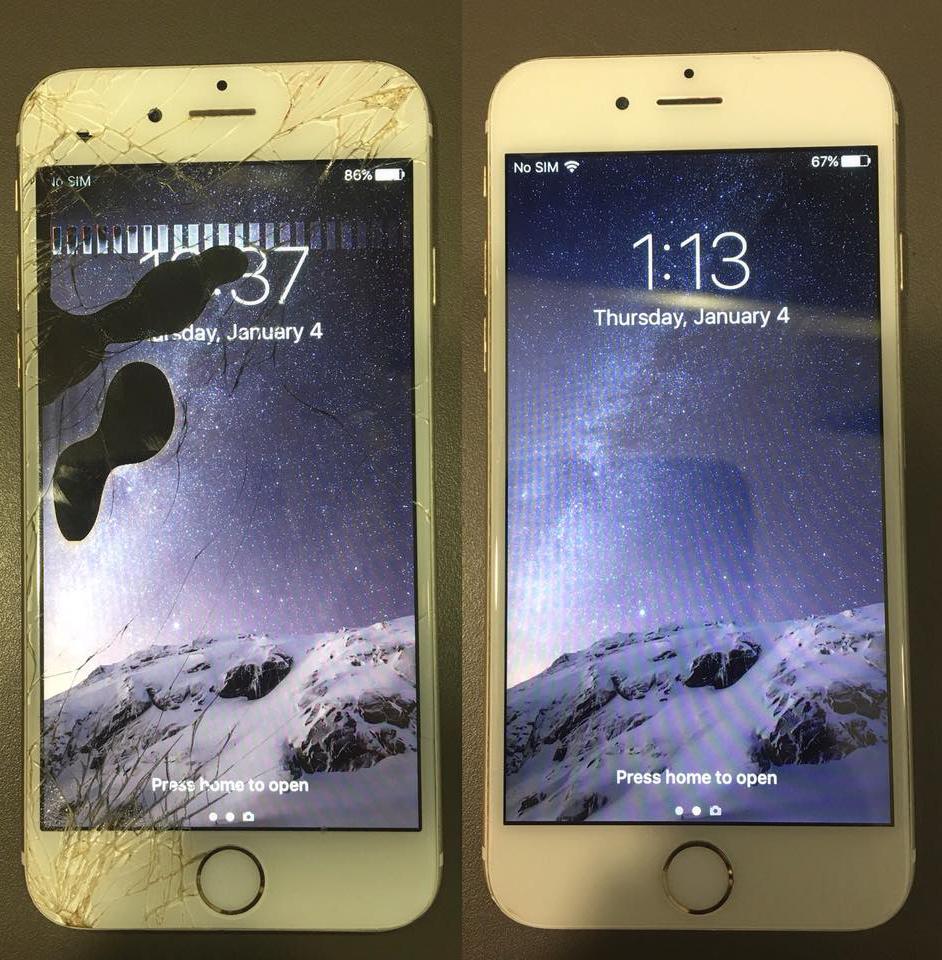Смяна на дисплей на iPhone