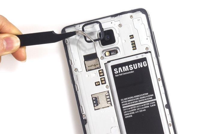 Смяна на камера на Samsung