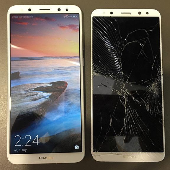 Смяна на дисплей на телефон Huawei