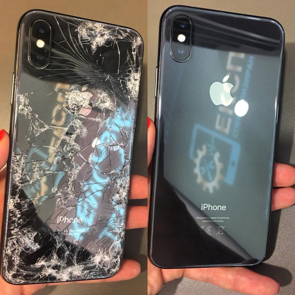 Ремонт на iPhone X - преди и след -2