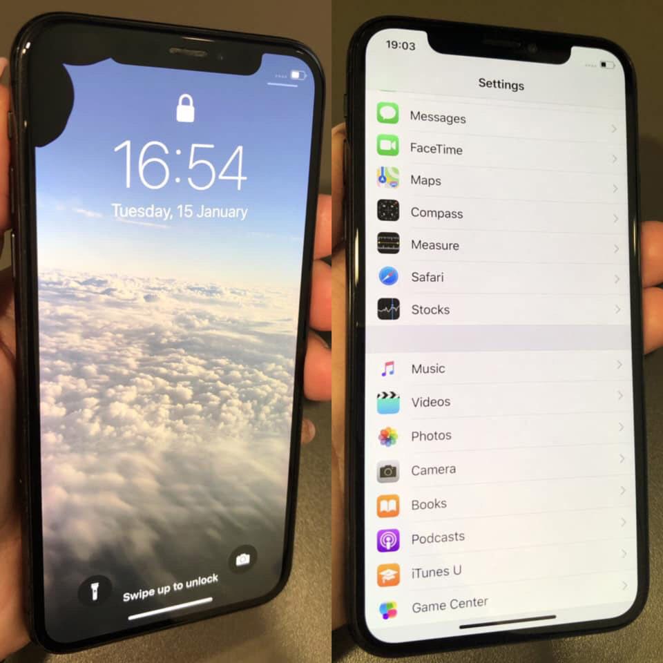 Ремонт на iPhone X - преди и след -4