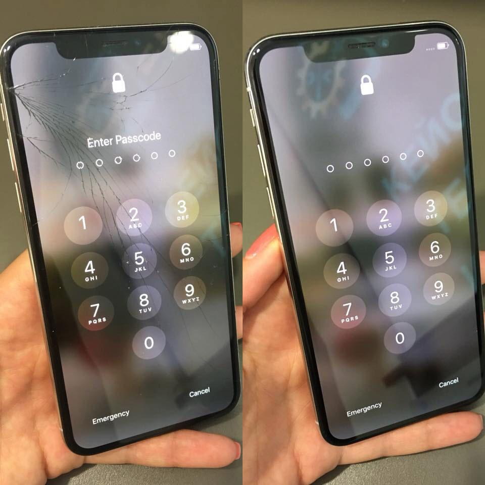 ремонт на iPhone X