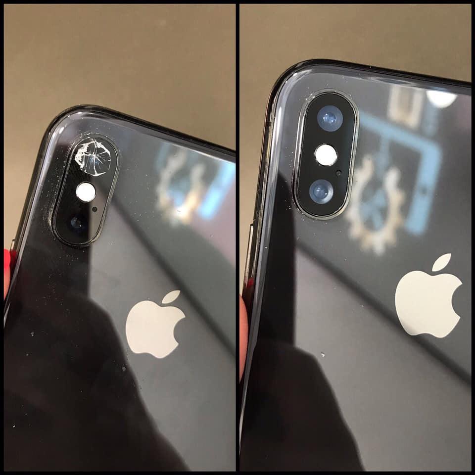 Смяна на стъкло на камера на iPhone