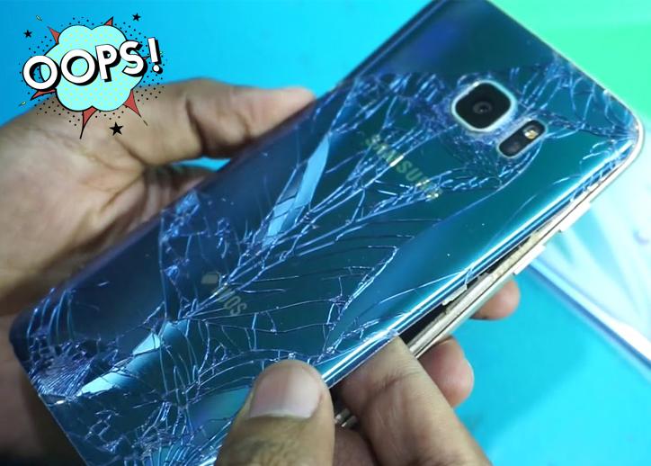 Смяна на стъкло на камера на Samsung