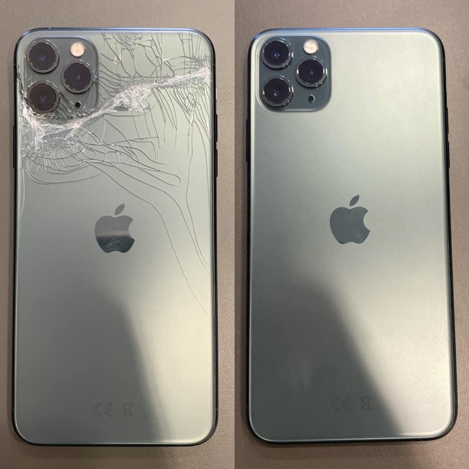Смяна на стъкло на корпус на iPhone